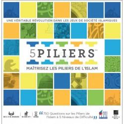 5 Piliers - Jeux de Société - 750 Questions sur les piliers de l'Islam -