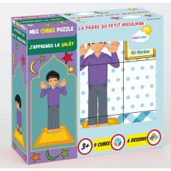Mes Cubes Puzzle - La prière du petit musulman