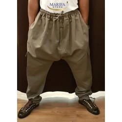Sarouel gris avec poche M/L