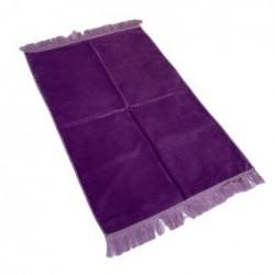 Tapis de prière violet uni