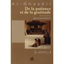 De la patience et de la gratitude Abû-Hâmid Al-Ghazâlî