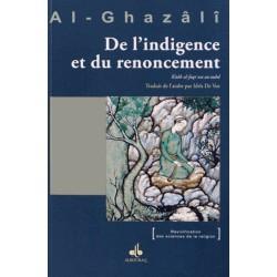 De l'indigence et du renoncement Abû-Hâmid Al-Ghazâlî